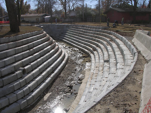 Creek Stormwater Drainage Solution Tulsa OK
