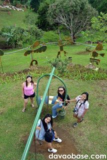 Bloggers on Playground in the Skies at Kapatagan