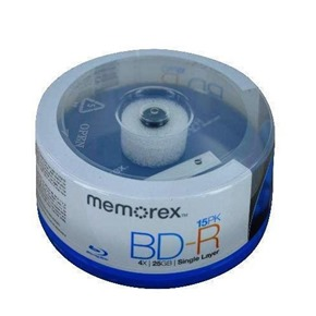 memorex-25gb-4x-write-once-bd-r-blu-ray-discs