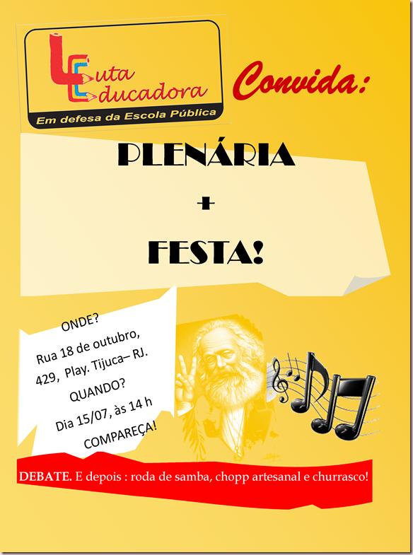 cartaz plenária 15-07