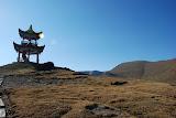 Tianshan - Temple et paysage