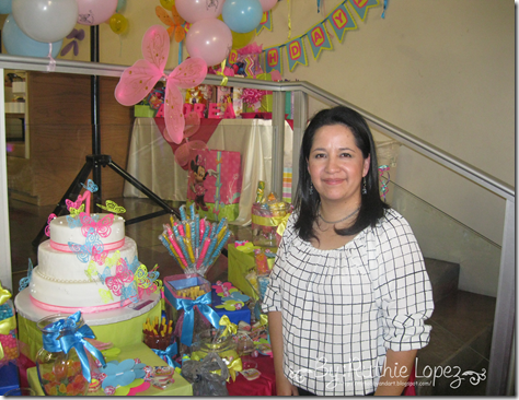 Bautizo - 1st Birthday Butterfly Themed - Butterfly Candy Bar - Baptism - Ruthie Lopez 10