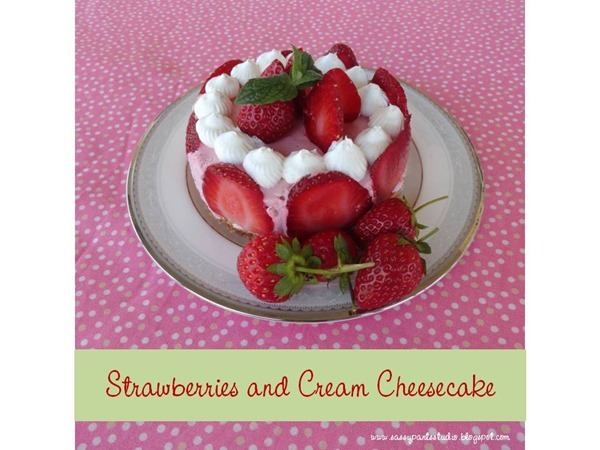 Strawberry Cheesecake Title