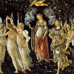 54 - Botticelli - Alegoría de la Primavera