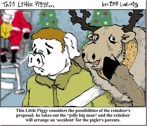 Piggy Reindeer