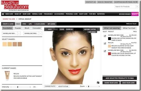 Freshly Shopped: MedPlus Beauty Haul & Review Virtual Makeup Studio