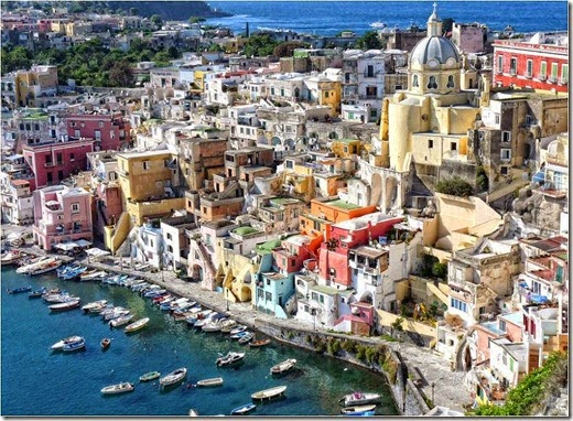 The small island of Procida