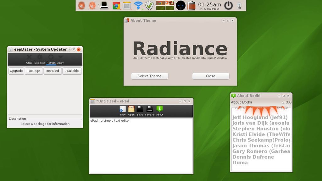 Bodhi Linux 3.0.0 Beta