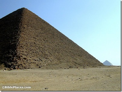 Dashur Red Pyramid with Bent Pyramid, tb110400454