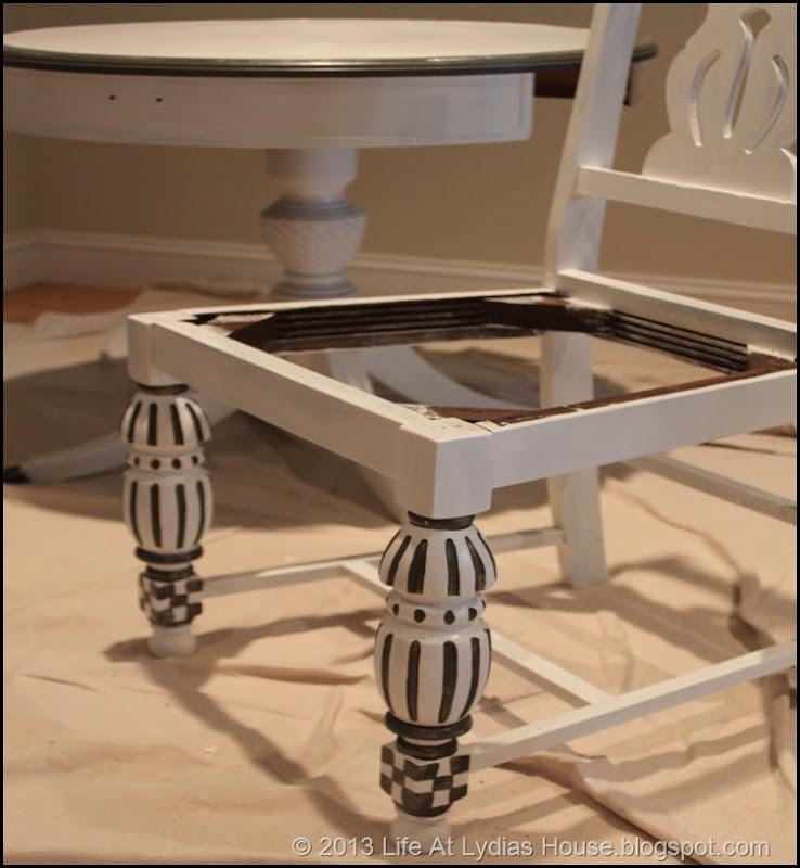 chair details close up