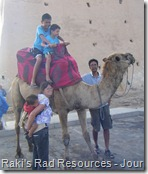 Riding a Camel in Agadir, Morocco
