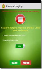 تطبيق تسريع شحن البطارية Faster Charging للأندرويد - 2