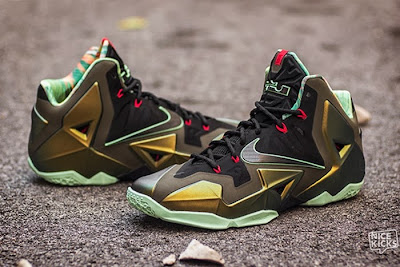 nike lebron 11 gr king of the jungle 3 01 kings pride Release Reminder: LEBRON 11 Kings Pride / King of the Jungle