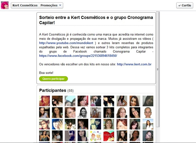 Promoção Kert