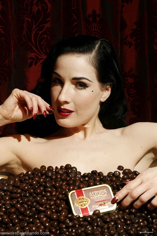 Dita Von Teese== ALTOIDS Temporary Store Opening with DIta Von Teese== 350 Bleeker Street, NYC== February 8, 2007== © Patrick McMullan== Photo - David X Prutting/PatrickMcMullan.com== ==