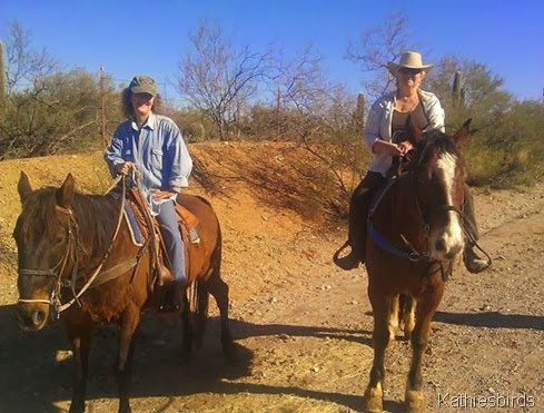 12-23-13 Celeste and kathie riding