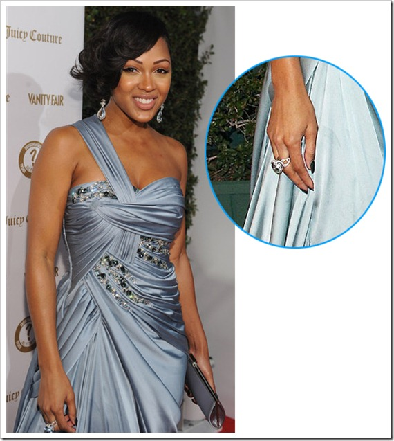 Meagan good's Aquamarine Ring