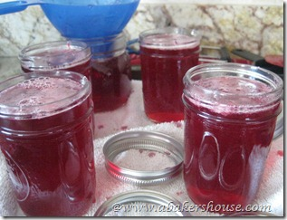 fill grape jars