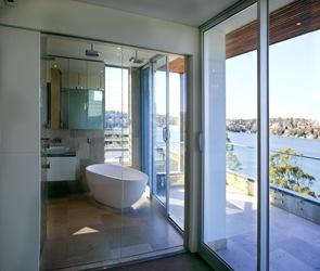 baño-moderno-Casa-Kangaroo-Point-de-DMJ-Design-Studio
