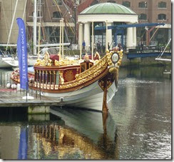 2 gloriana in st katharine dock 1