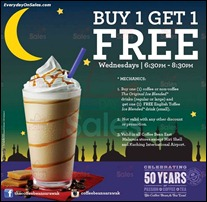 The Coffee Bean & Tea Leaf Enjoy Buy 1 Free 1 Promotion 2013 All Discounts Offer Shopping EverydayOnSales