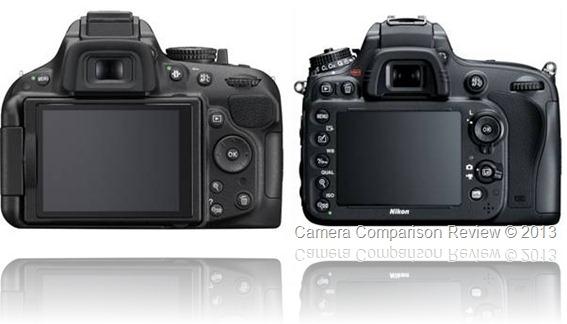 Nikon D5200 vs Nikon D600