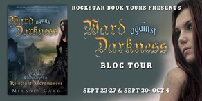 {Review+Giveaway} Ward Against Darkness by Melanie Card