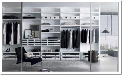 lemari pakaian minimalis mewah