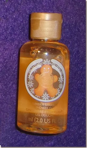 Ginger Sparkle Shower Gel (The Body Shop)