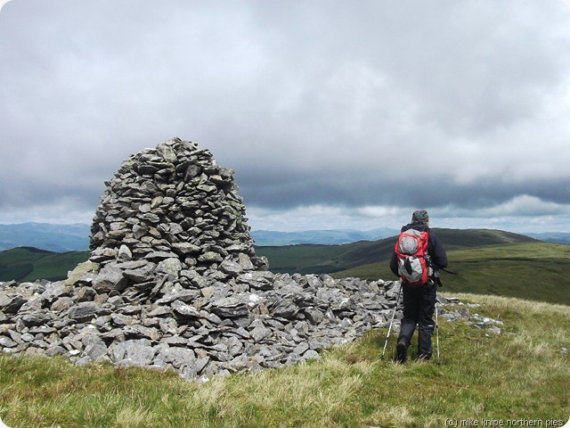 carn hyddgen summit