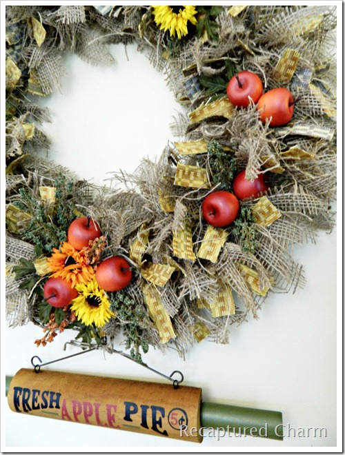 Autumn Kitchen Wreath 057a
