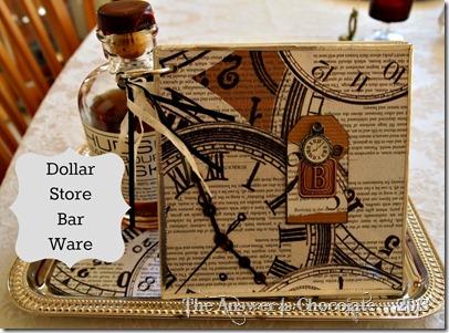 Dollar Store Bar Ware