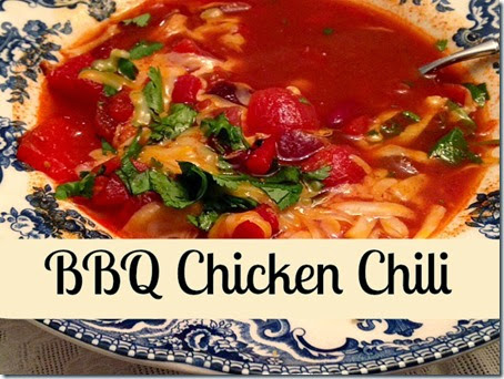 BBQ Chicken Chili - The Cozy Nook