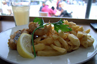 Fish 'n Chips at Falmouth