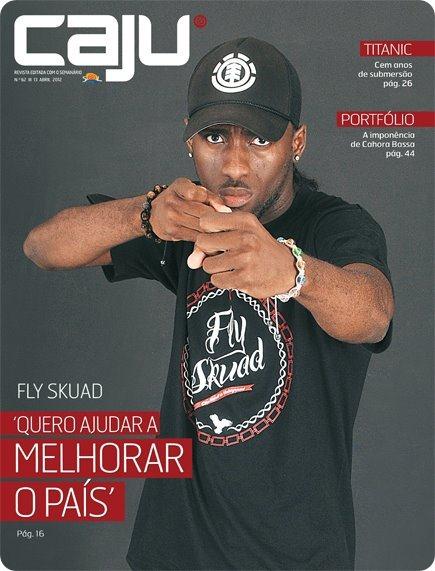 Fly Skuad Na Capa da Revista Caju