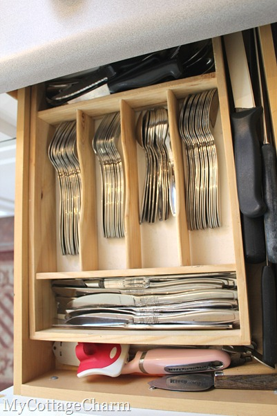 organizing your utensil drawer