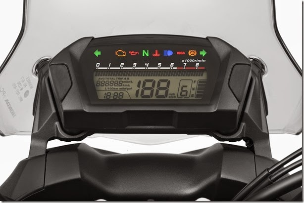 Honda NC 750X painel1 c