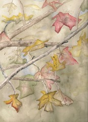 WatercolorLeaves