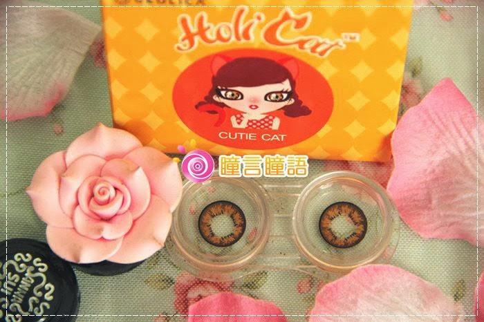 韓國GEO隱形眼鏡-GEO Holicat 荷麗貓迷萌咖(Cuite Cat)3