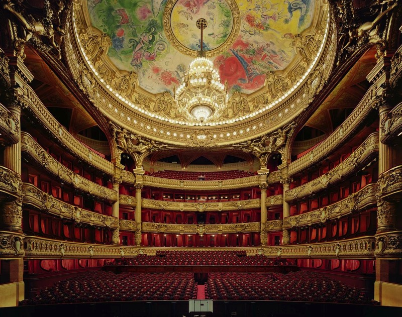 Palais Garnier interior atr Paris