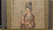 Lukisan Dewi Kwan im - wajah