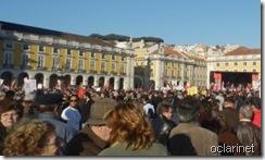 A maior manifestação dos últimos 30 anos.Fev.2012