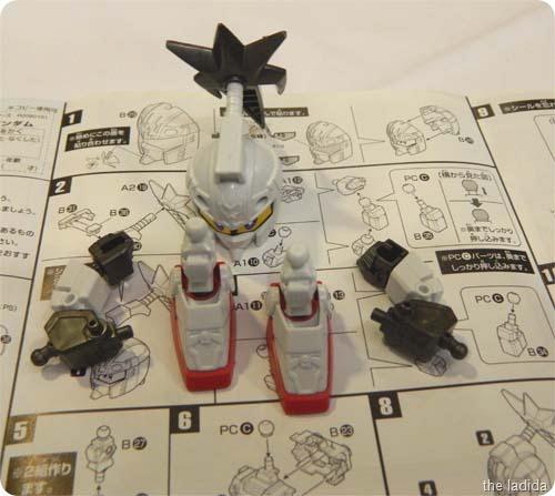 Gundam Body Parts