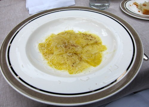 Ravioli with Cheese and Black Pepper
