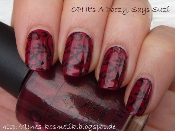 OPI Its A Doozy Stamping 1