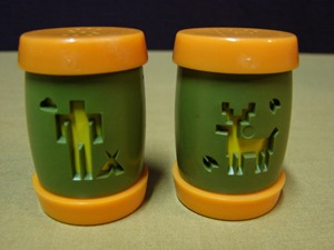 St. Labre Indian School salt and pepper shakers
