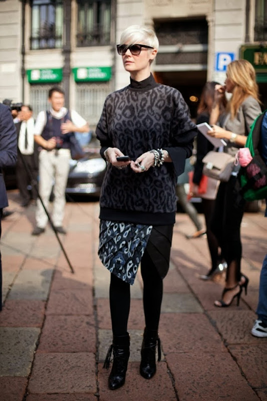 milan-fashoon-week-street-style-photo-spring-summer-ss-2013-christine-centenera-kate-lanphear-leopard-print-sweater-collared-shirt-print-asymmetrical-wrap-skirt-toghts-fringe-ankle-laceu