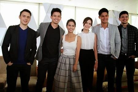 Two Wives stars Patrick, Jason, Kaye, Erich, Daniel and Rayver