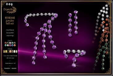 DANIELLE Finesse Jewelry Full Set'