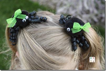spider barettes 10